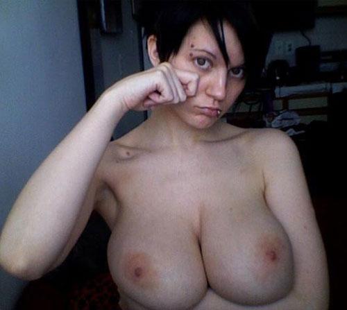 Big tits ex girlfriend hardcore anal sex